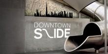 افتتاح ممر التزلج داون تاون سلايد وسط مدينة دبي