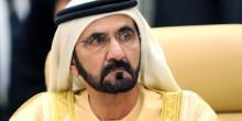 """محمد بن راشد آل مكتوم يطلق حملة """"غذاء العقول"""" في رمضان لأطفال المخيمات"""