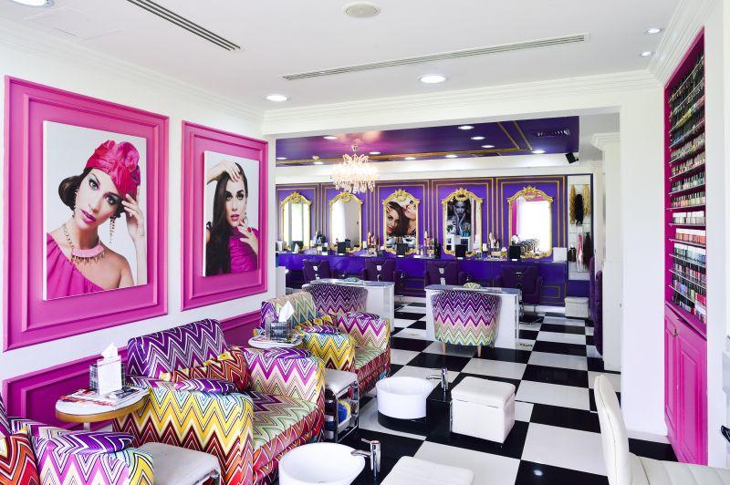 أشهر صالونات التجميل في دبي