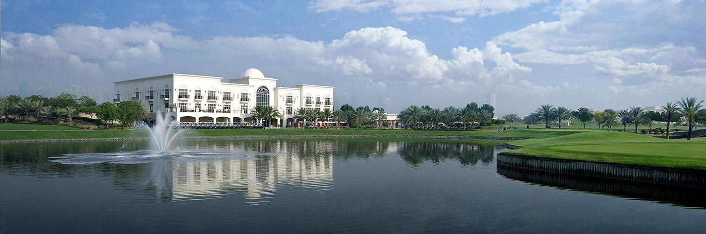 ملاعب الغولف في الإمارات