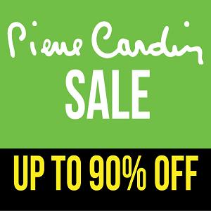 تخفيضات إلى 90% على جميع أزياء Pierre Cardin حتى 12 يونيو 2016