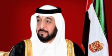 خليفة ومحمد بن راشد ومحمد بن زايد يهنئون رئيس تركمانستان