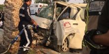 حادث مروري برأس الخيمة يسفر عن إصابة 12 عامل آسيوي