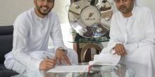 حمد إبراهيم يجدد للشارقة خمسة مواسم