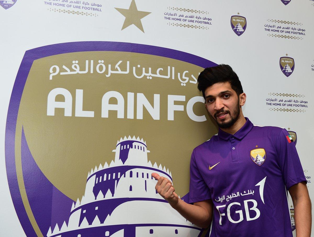 نتيجة بحث الصور عن عامر عبد الرحمن  لاعب العين  2016