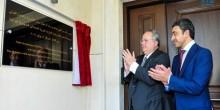 عبدالله بن زايد يفتتح مبنى سفارة اليونان الجديد
