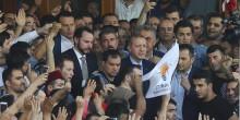 أردوغان : يعلن الحكومة تسيطر على البلاد
