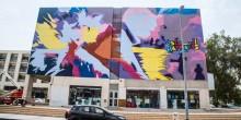 بالصور: لوحات فنية تزين شوارع دبي