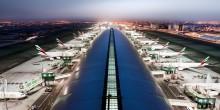 شاهد حركة طيران الإمارات في مطار دبي في نصف دقيقة