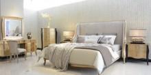 """امنحوا غرف نومكم مظهراً كلاسيكياً راقياً مع تشكيلة """"جريج غالور"""" من """"الحذيفة للمفروشات"""""""