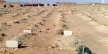 سعودي يسقط ميتًا في قبر والدته لحظة دفنها