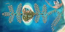 """""""سان بيترسبرغ"""" أول جزيرة مخصصة لشهر العسل في دبي"""