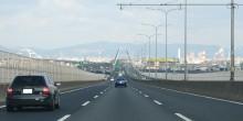 افتتاح الجسر الجنوبي على شارع الشيخ زايد الرابط بين دبي وأبوظبي