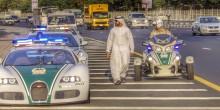 بالفيديو: أسطول دوريات شرطة دبي الفارهة