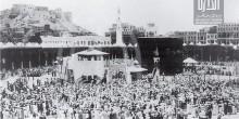 شاهد صورة على الكعبة المشرفة قبل 130 سنة