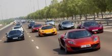 تعرف على أفضل الطرقات لقيادة السيارات الفارهة في الإمارات