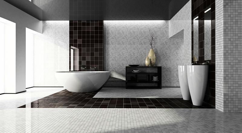 بالصور: تصاميم عالمية للحمامات باللون 92.jpg
