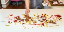 """لوحات فنية قابلة للأكل من """"بيور سكاي لاونج"""""""