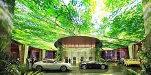 بالصور: الغابة المطيرة في فندق روزمزنت دبي