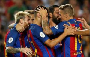 برشلونة وإشبيلية كأس السوبر الإسباني 2016
