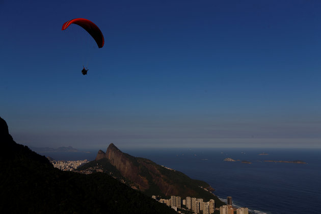 """Morro Dois Irmao (Two Brothers Hill) is pictured from Pedra Bonita mountain in Rio de Janeiro, Brazil, May 3, 2016. REUTERS/Ricardo Moraes SEARCH """"RIO POSTCARDS"""" FOR THIS STORY. SEARCH """"THE WIDER IMAGE"""" FOR ALL STORIES."""