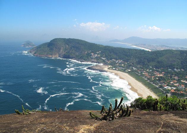 View from Costão de Itacoatiara