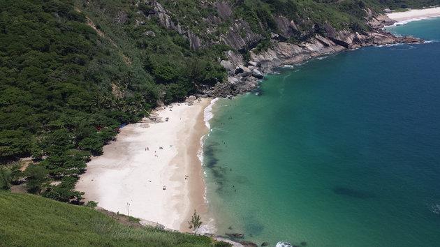 Wild Beach of Rio de Janeiro.