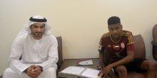 محمد راشد الحمادي يجدد للوحدة حتى 2021