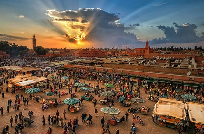 مدينة-مراكش-المغربية