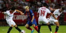 بالفيديو: برشلونة يقترب من كأس السوبر الإسباني بثنائية في مرمى إشبيلية