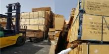 ضبط كميات من مواد البناء المقلدة في الشارقة