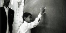 محمد بن زايد ينشر صورته أيام المدرسة