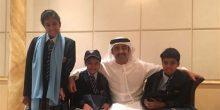 عبدالله بن زايد في صورة رفقة أطفاله: عام دراسي عامر للجميع