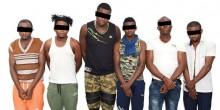 القبض عصابة مختصة في سرقة المحلات التجارية في الشارقة