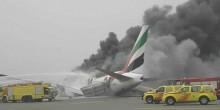 بالفيديو: هبوط اضطراري لطائرة في مطار دبي والركاب سالمون
