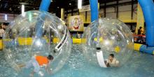 متّع أطفالك بتجربة مليئة بالتسلية في حوض الكرات في دبي مول