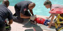 إنقاذ طفل عماني غرق في منتزه الحديقة المائية في الشارقة