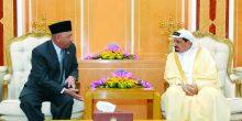 حاكم عجمان يبحث تعزيز العلاقات مع إندونيسيا