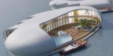 بالفيديو: شركة هولندية تبني منازل عائمة في دبي