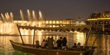 إنشاء محطة جديدة تابعة لنافورة بحيرة دبي في محيط برج خليفة