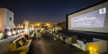 شاهد أفلامك المفضلة تحت ضوء القمر والنجوم في قاعة غاليريا مول السينيمائية