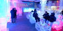 تعرف بالصور على مقهى شيل اوت الجليدي في دبي