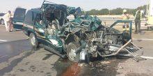 وفاة مواطن إثر اصطدام مركبته بشاحنة في الفجيرة