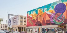 الصور الكاملة لرسومات الجرافيتي التي تزيّن مباني شارع الكرامة
