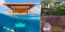 شاهد أغرب 10 أماكن للإقامة في العالم