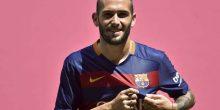 توقعات برحيل أليكس فيدال عن برشلونة لإيطاليا