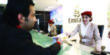 طيران الإمارات يفرض رسومًا على الحجز المسبق للمقاعد.