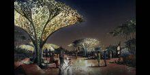 بالصور | اعتماد مشروع الكهف والبيت الزجاجي في حديقة القرآن بدبي