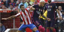 بالفيديو: برشلونة يسحق خيخون بخماسية