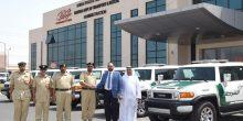"""سيارات """"تويوتا اف جي كروزر"""" 2016 تنضم لأسطول دوريات شرطة دبي"""